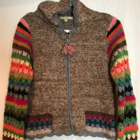 Relais Knitware Sweaters - Wonderful afghan inspired sweater